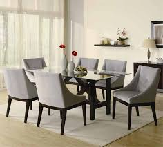 modern dining room set contemporary dining room chairs alluring decor very attractive