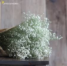 baby s breath bouquet dried flowers baby s breath gypsophila interspersion