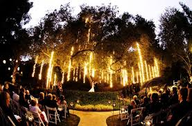 Backyard Wedding Lighting Ideas Backyard Wedding Reception Evening Best Images About Garden