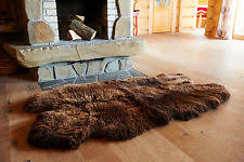 Bare Skin Rug Double Sheepskin Rug Ebay