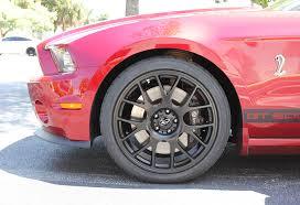 2010 Mustang Black Rims Steeda 20