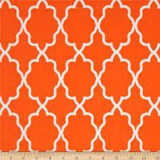 michael miller coco cabana moroccan lattice orange discount