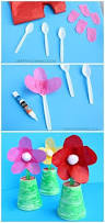 Making Flowers Out Of Tissue Paper For Kids - kid made cupcake liner flowers cupcake liner flowers cupcake