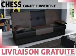 canap convertible livraison gratuite canapé convertible chess livraison gratuite à versailles offres mai