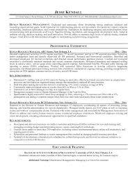 hr generalist resume examples hr generalist resume sample monstercom resume sample human resource position