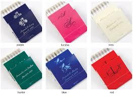 matchbook wedding favors 30 strike personalized wedding matchbooks 50 pcs personalized