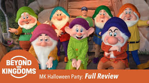 review of 2017 mickey u0027s not so scary halloween party youtube