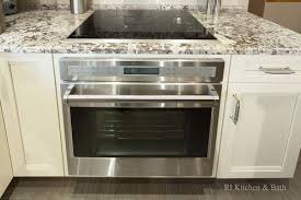 how to install a wall oven in a base cabinet i can put a wall oven under my cooktop without any trouble