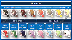 all acnl hairstyles with colours all hairstyles acnl animal crossin new leaf hair guide acnl new