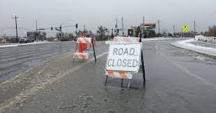 Icy Avalanche Updates I 80 Closed Icy Roads Expected Overnight
