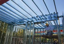 light gauge steel deck framing what about steel in home construction fine homebuilding