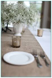 extra wide table runners wide burlap table runners