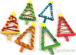 diy christmas tree ornaments ziggity zoom