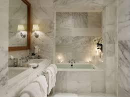 marble bathroom ideas cream wooden vanity shower with glass door