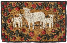 Country Hooked Rugs Maine Fiberarts Town And Country Hooked Rugs