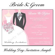 wedding card from groom to wedding invitations with pictures of and groom 1pcs sle
