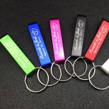 Customized Wedding Gift Customized Wedding Gift Of Color Bottle Opener With Key Chain