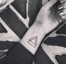 the meaning of a double triangle tattoo onehowto