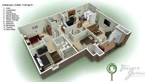 Three Bedroom Design Design Of Three Bedroom House Zhis Me