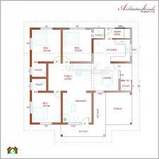 house plans architect inspiring 760 square 3 bedroom house plan architecture kerala