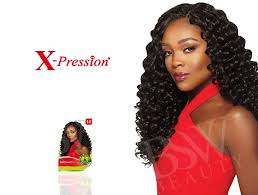 crochet braids hair outre synthetic hair crochet braids x pression braid 4 in 1