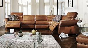 Natuzzi Recliner Sofa The Supremely Comfortable Italian Leather Salerno Recliner Sofa