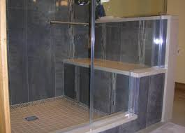 shower stunning walk in shower tub splendid corner step in