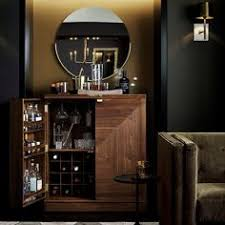 Crate And Barrel Bar Cabinet Shop Charlene White Wine Cabinet The Most Beautiful Bar In Town