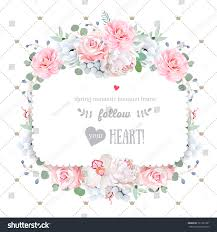 wedding backdrop design vector square floral vector design frame orchid stock vector 721351201
