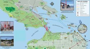 Presidio San Francisco Map by San Francisco Golden Gate Bridge Evening Bike Tour In Panama