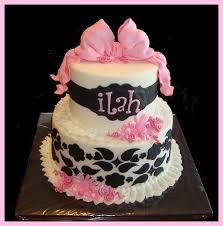 black and white baby shower black u0026 pink baby shower cake