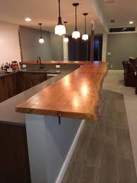 Kitchen Bar Design Quarter Counter U0026 Bar Tops U2014 Live Edge Workshop
