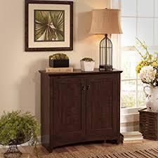 Small Storage Cabinets Amazon Com Buena Vista 2 Door Small Storage Cabinet Kitchen U0026 Dining