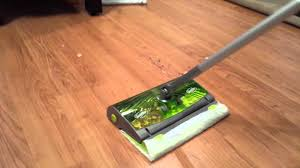 Can Swiffer Be Used On Laminate Floors New Swiffer Sweep U0026 Trap In Action Youtube