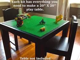 Dining Room Table Kits Amazon Com Lego Compatible Table Kit Covers A 20