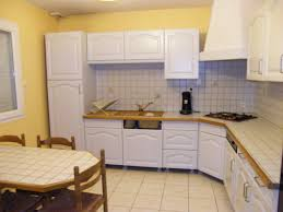 repeindre la cuisine davaus peindre cuisine chene en blanc avec des idées