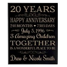20th anniversary gift ideas for cheap gift for 20th anniversary find gift for 20th anniversary