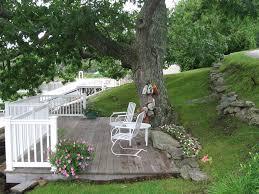 How Much To Level A Backyard Best 25 Hillside Deck Ideas On Pinterest Sloped Backyard