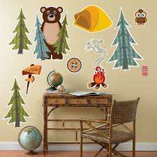 amazon com camping adventure wilderness room decorations giant amazon com camping adventure wilderness room decorations giant wall decals health personal care