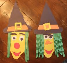 Kids Halloween Crafts Easy - i have included templates below that you can use to make your own