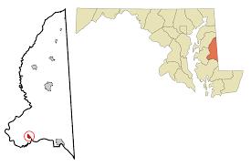 Zip Code Map Maryland by Preston Maryland Wikipedia