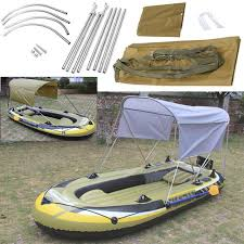 Awning Boat Surfing Kayak Canoe Boat Top Kit Inflatables Boat Sun Shelter