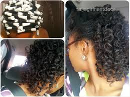 perm for grey hair two wash days and a perm rod set naija girl next door