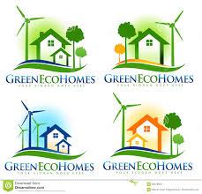 eco house logo stock illustration image 40078820