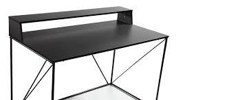 bureau metal noir bureau noir 100 images canape bout de canape fly gallery of