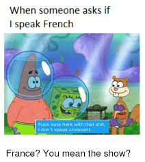 What Does Meme Mean In French - 25 best memes about french fuck french fuck memes