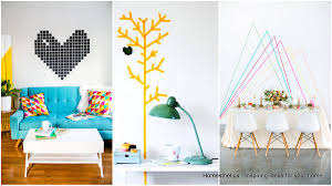 creative idea for home decoration creative ways to use washi tape in home decoration homesthetics