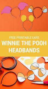 Printable Halloween Costumes by Diy Winnie The Pooh Ears Piglet Ears Tigger Ears Easy