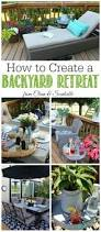 how to create a backyard oasis backyard patio oasis and backyard
