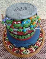 torta de tortugas ninjas comidas dulces tortas pinterest